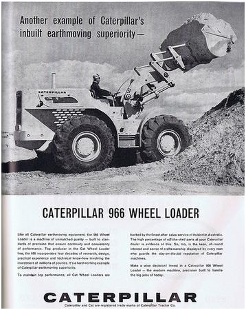 Модель Caterpillar 966
