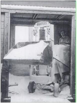 Модель погрузчика Фрэнка Хью, выпущенная в 1939 году