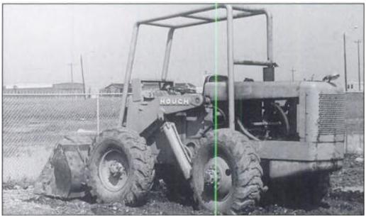 Фото полноприводного погрузчика модели НМ, выпущенного в 1947 году